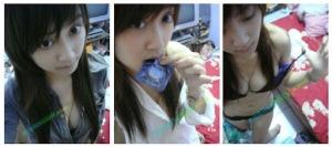 Foto Foto Aksi HOT Cewek Cantik Pamer Tubuh dan Kond*m