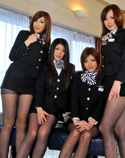 Hot jizz-hungry asian air hostesses enjoy a wild orgy with their clients № 1470442 бесплатно